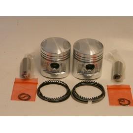 Kits pistons pour la Honda 125 TWIN CM CMT REBEL