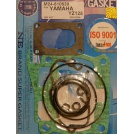 2002 a 2004 -Pochette de joints haut moteur pour la Yamaha 125 YZ de 2002 a 2004.
