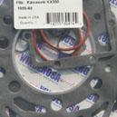 Pochette de joints haut moteur pour la Kawasaki 500 KX de 1986 et 1988.Merci de cliquer sur l'image pour les détails.