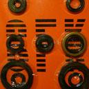 Joints spys moteur pour la Suzuki RM-Z 250 de 2004 et 2005.Merci de cliquer sur l'image pour les détails.