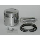 Kit piston pour la Honda 125 CG en cote standard.Merci de cliquer sur l'image pour les détails.
